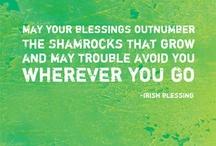 Erin go bragh - Irish / Ireland / Éire go deo i mo chroí || All things Irish, Ireland, Irish-American, shamrock, clover, Saint Patrick's Day