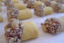 biscuiți ciuperca cu alune