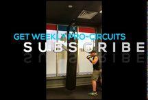 Boxing /padwork drills