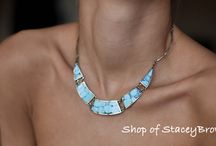 Necklaces with stones / Wonderful necklaces with Russian stones