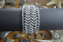 self made chainmail / All kinds of chainmail art.