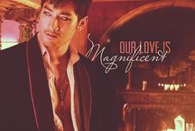 Magnus Bane / Glitter. Style. #MagnusBane. / by The Mortal Instruments
