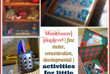 Activities for Toddlers - Montessori