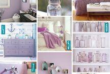 Lavender interior design
