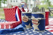 Fourth of July / Celebrate red, white and blue with these fun ideas.