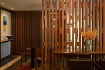 wood partition
