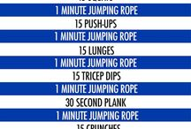 Skipping rope workoutz