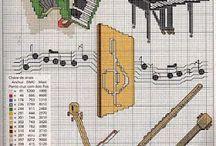 Ponto Cruz instrumentos/ musica