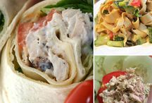 Healthy snacks and lunch ideas