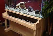 Старые пианино
