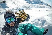 Snowboard 'n ski