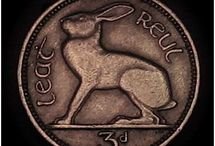 Old Irish coin