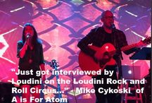 Podcast Episodes / Check out this Episodes from the Loudini Rock and Roll Circus Podcast and the Loudini Hard Rock and Metal Circus Podcast!!