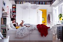 BRIMNES IKEA / BRIMNES Ailesinin karyola ve yatak başına yönelik tasarımlar