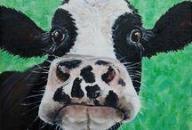 CA Cow Art