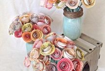Room decoration DIY – Fresh spring decor made of paper