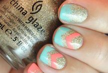 Painted Nails, Bling Bling Nails / All kinds of Nails / by Alexis Pappas-Rushing