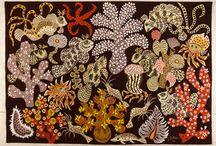 fruits, fleurs, feuilles