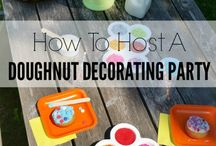 Party / Playdate themed ideas - Dougnut party