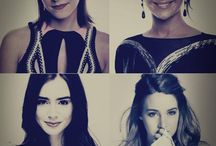 Actresses who plays heroes. THG, THP, D, MI, TMR