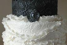 trouwtaart (weddingcakes) / Mijn eigen trouwtaart(my own weddingcakes)