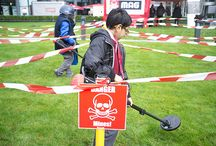 Mine Awareness Day 2014 / 4 April is International Day for Mine Awareness. Every day 10 people are killed or injured by landmines or other unexploded weapons left over after conflict. Irrespective of why wars happen, innocent people should not pay the price.