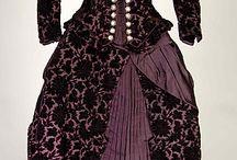 Fashion History / Historic garments, period dress, historic fashion.