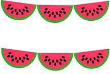 icon // watermelon