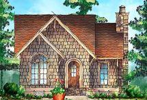 SHINGLE SIDED BEAUTY / Dreams of quaint New England Coastal Cottages, vintage shingled homes, & mountain retreats...etc. / by Karen Haskett