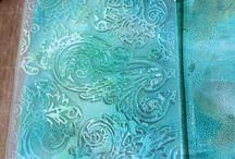 Gelli Plate Mono printing / All things gelli