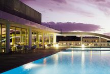 Rooftop Pool / What a magic you can find in the heart of Rome! A rooftop pool on the seventh floor, overviewing the city
