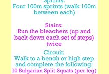 Lil workouts + challenges