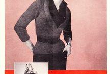 Vintage patterns-knitting