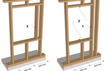Wooden building - construction process