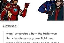 Captain America (aka Stucky trash)