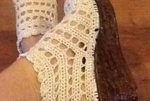 zapatos,sandalias y zapatillas en crochet