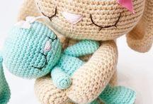 crochet - zabawki