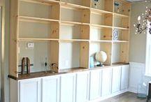 bookcases built in diy