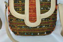 Daisy Amarissa Handbags / Handmade, Leather, Woven.. Use Cow leather, lamb leather, Phyton skin