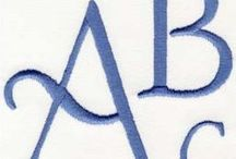 embroidery designs - fonts
