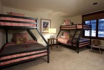 Bunk Rooms / Booking a family vacation? Want the kids to enjoy each others' company in a great bunk room... look no further! Book today- call us at 800.970.7541 or visit http://www.telluride-rentals.com