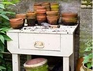 Garden tables etc