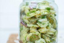 kuchnia surówki i sałatki