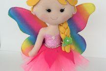 Boneca borboleta