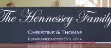 Our Family Name Signs / Design your own Family Established wood sign! / by Wooden Signs Company, LLC