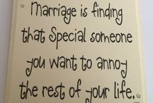 Marriage is finding...