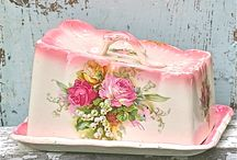 Antique Dishes / by Tami DeVore