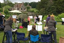 Sky Landscape Artist of the Year Wildcards 2016 / WE entered as wildcards and did the four hour challenge together. We were filmed and featured on TV
