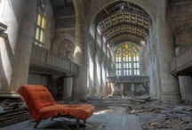 Abandoned places that haunt you or break your heart / by Liz Stoddard