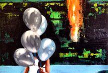 Eloge de la fuite / Paintings